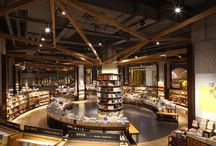 Bookstores and libraries