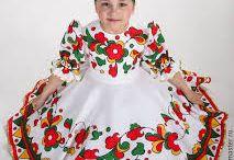 Народный стилизованный русский костюм