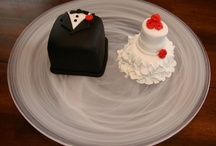 Cake and Food for Wedding