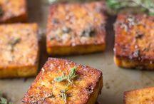 Savoy lemon &herb baked tofu