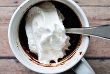 Mug desserts