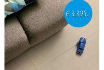 TopDeals - De Mooiste Tegels in de Aanbieding! / All-in TopDeal Tegelvloeren!  Deze topcollectie, samengesteld door de interieurarchitect op basis van de trends van 2018, kunnen wij aanbieden tegen zeer scherpe prijzen!  De prijzen van deze vloeren zijn incl. tegels voor 40m2, leggen, lijm, voeg en begeleiding. Kijk voor de volledige collectie en meer info op http://www.lingenkeramiek.nl/woonkamertegels/topdeals/ #tegels #woonkamer #vloer #aanbieding
