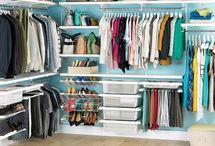 Closet organization  / by Kristen Londe