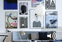 Gallery Wall Ideas / We love gallery walls.  This board shares some gallery wall styling and inspiration for your home.  Love to create one in your home?  Pop over to our online store at www.everythingbegins.com and check our our amazing collection of art, all available to buy online.