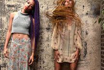 the hair. / Girls & Guys rocking their best hair to match their best style !