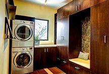 interiors | laundry closets / by Glenyse