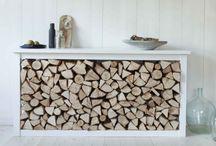 Dřevo ke krbu