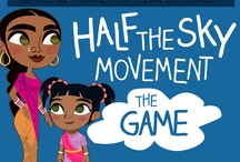 Half the Sky Movement: The Game / Check out the Facebook Game here: https://apps.facebook.com/halftheskymovement/ / by Half the Sky Movement