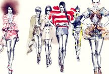 Fashion Illustration / Sketch and Illustration