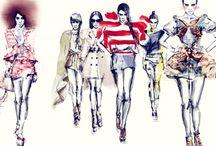 Fashion Illustration / Sketch and Illustration
