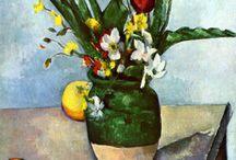 Flowers in Art. Kwiaty w sztuce / Flowers in art by great masters. Kwiaty w malarstwie wielkich artystów.