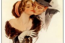 American Beauties Her Man - Harrison Fisher / by Nancy S