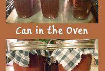 Preserve food by canning, freezing, jams, oils & vinegar etc / bewaren fruit en groenten, jam, olie & azijn etc