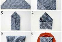pliage serviettes