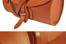 leather bag closing