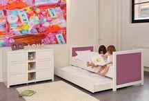 Bobo Kids Kindermöbel / Frische Farben, anspruchsvolles Design und Stoff als Möbelelement, machen den Reiz dieser zauberhaften Kindermöbel aus.  http://www.kinderraeume.com/Bobo-Kids-Kindermoebel/