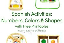 Spanish printables and activities