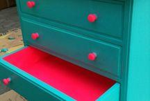 Neon cuboard