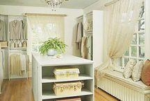 Home Inspiration: Closets