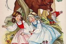 Schneeweißchen und Rosenrot/ Snow White and Rose Red