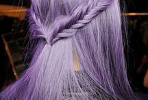 Lavender, hair