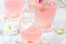 Repas en rose