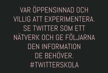AddFriends Twitterskola / Nu är hela vår Twitterskola publicerad på AddFriends.se; alla inlägg med länkar finner du också här i fotoalbumet.