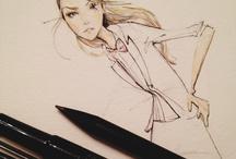 Fashion Illustration / by Vanessa Lambert