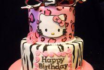 Hello kitty birthday cakes / HELLO KITTY BIRTHDAY CAKES