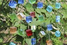 decorando con vidrio