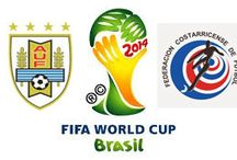 Urugay 1-3 Costa Rica / Costa Rica se viste de grande (1-3) Costa Rica logró remontar un marcador adverso para cantar victoria por 1-3 ante Uruguay en su estreno en el durísimo Grupo D de la Copa Mundial de la FIFA Brasil 2014™.