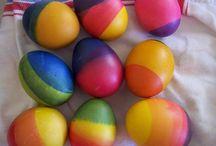 Ιδέες για βαφή αβγών