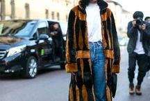 How to wear fur coat