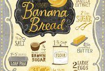 [food illustration] / Food illustrations and illustrated food recipes