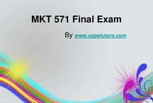 MKT 571 Final Exam Latest Online HomeWork Help