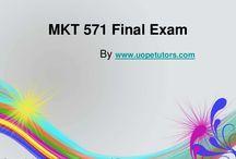MKT 571 Final Exam Latest Online HomeWork Help