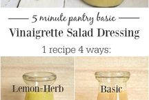 Recepies - Vinaigrette & Salad dressings