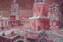 Храмы Москвы/Moscow Temples
