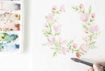 Learn_Watercolour Foliage