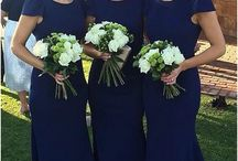 Navy weddingbdresses