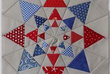 Patchwork Hexagones