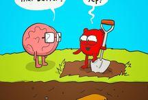brain end heart