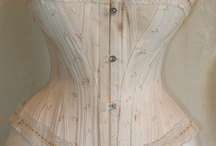 Late 1890s corsets