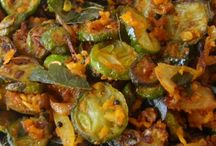 indian foods..ivy gourds /tendi