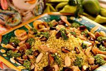 Ricette / Cous cous melanzane e pollo