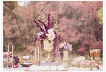 Pretty tablescapes / Beautiful ways to set a table