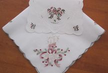 Vintage Tablecloth and Doiley