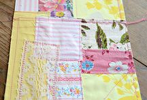scrappy fabric pictures - inspiration