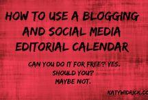 Blogging  / Tips & tricks