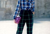 Tartan Fashion / by Mysmallwardrobe.com